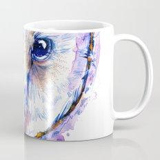 Owl and Irises Mug