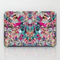 botanical iPad Cases featuring Botanical Blue by RIZA PEKER