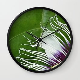Passiflora Wall Clock