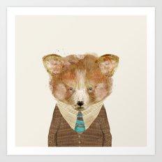 little red panda Art Print