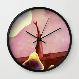 the headington shark Wall Clock