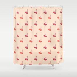 Cherry Festival Shower Curtain