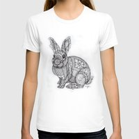 "blush T-shirts featuring ""Blush Bunny"" by Cindy Lysonski - Creative Daydreamzzzz"
