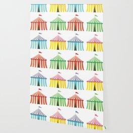 colourful circus tents Wallpaper