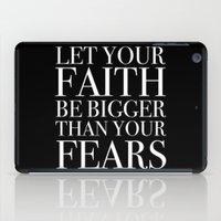 faith iPad Cases featuring Faith by eARTh