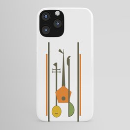 Mid-Century Modern Art Musical Strings iPhone Case