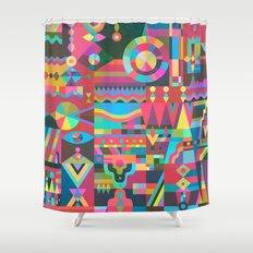 Schema 17 Shower Curtain