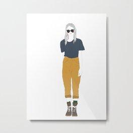 Sup Metal Print
