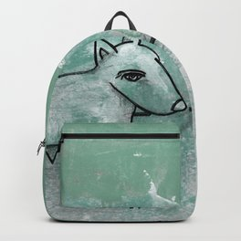 Dog No.1q by Kathy Morton Stanion Backpack