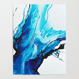 Abstract Art Britto - QB292 Art Print Poster
