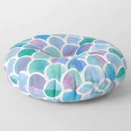 Mermaid Tail Floor Pillow