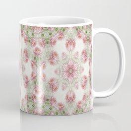 Pink Chrysanthemums Kaleidoscope Art 5 Coffee Mug