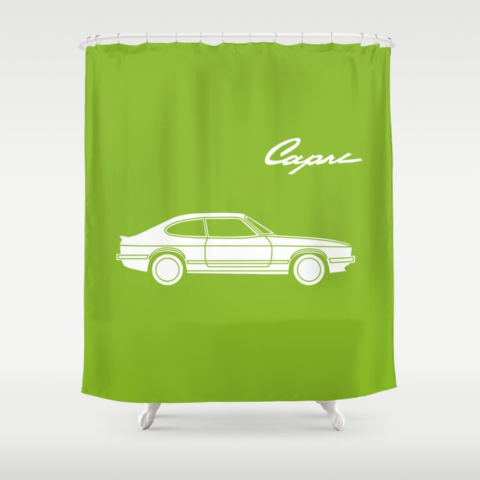 Ford Capri Shower Curtain