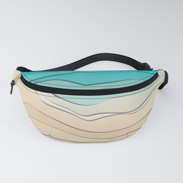 Sea and sand Fanny Pack
