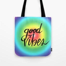 Good Vibes - Rainbow Pride Tote Bag