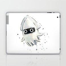 Blooper Squid Mario Watercolor Geek Art Laptop & iPad Skin