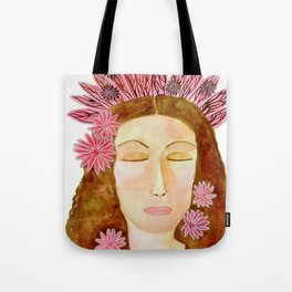 Flora the Goddess of Spring and Renewal Tote Bag