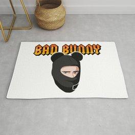 Bad Bunny Cuidao por ahi Rug