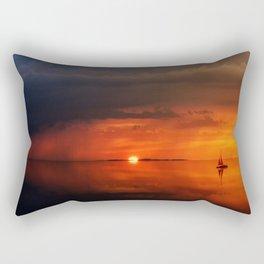 Glass Color Rectangular Pillow