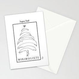 Joyeux Noel Minimaliste Stationery Cards