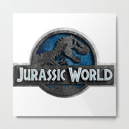 Jurassic World Metal Print