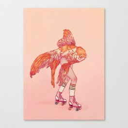 Mermay No.1 Canvas Print