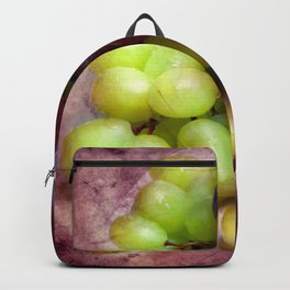 Grapes Red And Green Backpack