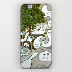 Forest Ghosts (iPhone case/skin) iPhone & iPod Skin