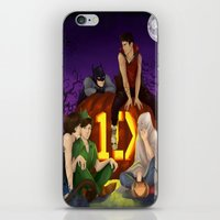 1d iPhone & iPod Skins featuring 1D Halloween by RockitRocket