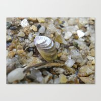 sand Canvas Prints featuring sand by Dottie