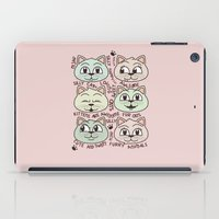 kittens iPad Cases featuring Kittens by Artificial primate