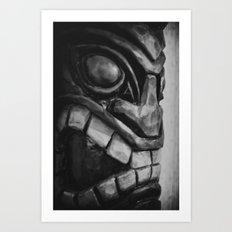 Freaky Tiki Art Print