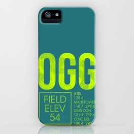 OGG iPhone Case