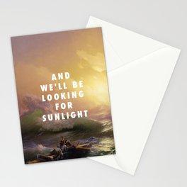 Ivan Aivazovsky, The Ninth Wave (1850) / Halsey, Roman Holiday (2015) Stationery Cards