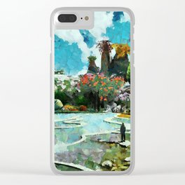The new hanging gardens Clear iPhone Case