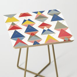 Triangular Affair Side Table