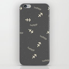 Sagittarius Pattern iPhone Skin