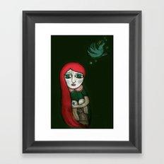 Letting Go. Holding On. Framed Art Print