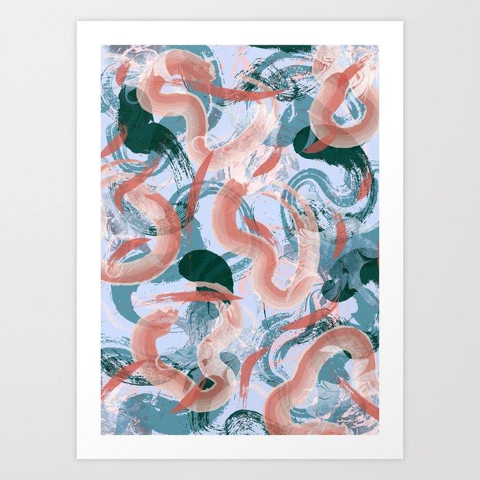 Koi Pond Kunstdrucke