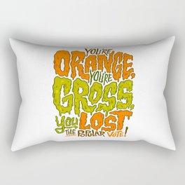 He's Orange, He's Gross, He Lost the Popular Vote Rectangular Pillow