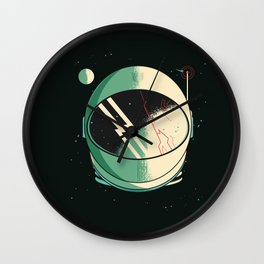 Death of an Astronaut Wall Clock