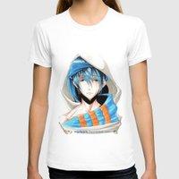 iwatobi T-shirts featuring Free! Iwatobi Swim Club Haruka by Mistiqarts