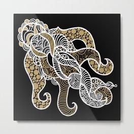 Elaboration Metal Print