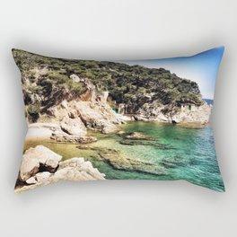 Shallow Waters Rectangular Pillow