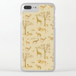 Safari in the Serengeti Clear iPhone Case