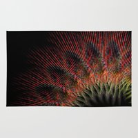 terry fan Area & Throw Rugs featuring Fan by LoRo  Art & Pictures