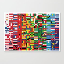 New World Order (By Color) Canvas Print
