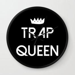 Trap Queen Wall Clock