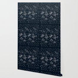 Space pattern Wallpaper