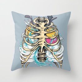 Clean a dishes Throw Pillow